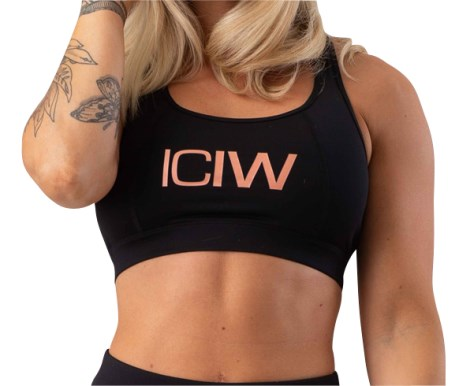 ICIW Rose Gold Limited Edition Sports Bra - ICANIWILL