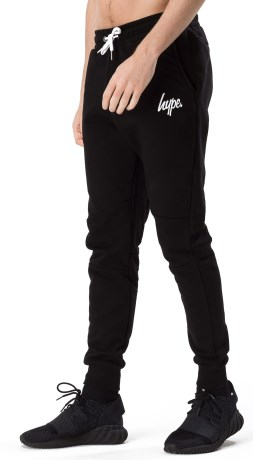 Just Hype Mens Script Joggers - Just Hype