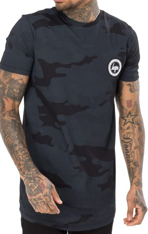 Just Hype Mens T-Shirt Half Tone - Just Hype