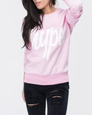 Just Hype Script Womens Crewneck