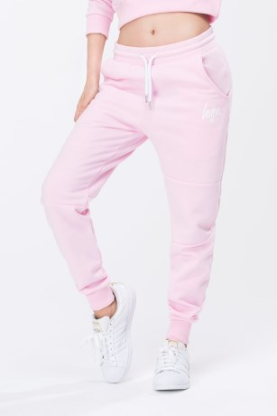 Just Hype Script Womens Joggers - Just Hype