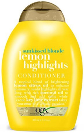 OGX Lemon Highlights Conditioner, Hud- och hårvård - OGX