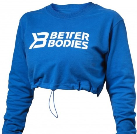 Better Bodies Madison Cropped Long Sleeve - Better Bodies