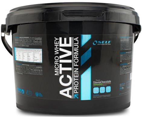 Micro Whey Active Stevia, Livsmedel - Self Omninutrition