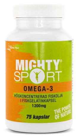Mighty Sport Omega-3 - Alpha Plus