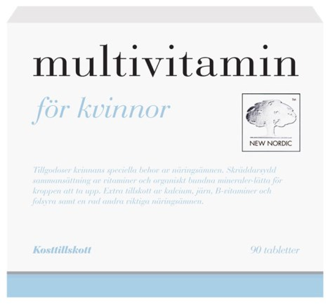 New Nordic Multivitamin Kvinnor, Hälsa - New Nordic