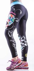 Myway2fitness Sugarskull Perfection Tights
