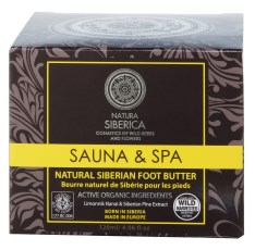 Natura Siberica Sauna & Spa Natural Siberian Foot Butter