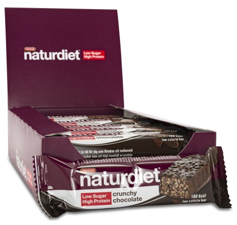 Naturdiet Low Sugar High Protein Bar, Viktminskning - Naturdiet