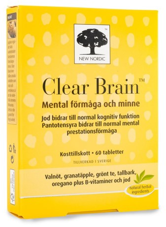 New Nordic Clear Brain, Hälsa - New Nordic