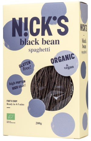 Nicks Black Bean Spaghetti, Livsmedel - Nicks