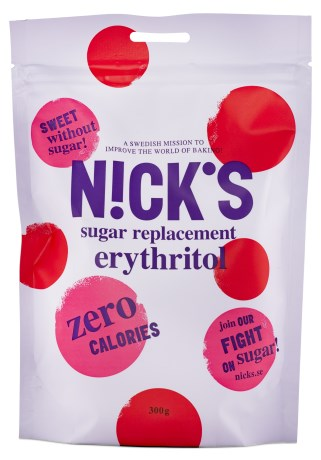 Nicks Erythritol, Livsmedel - Nicks
