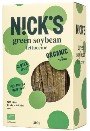 Nicks Green Soy Bean Fettucine - Nicks