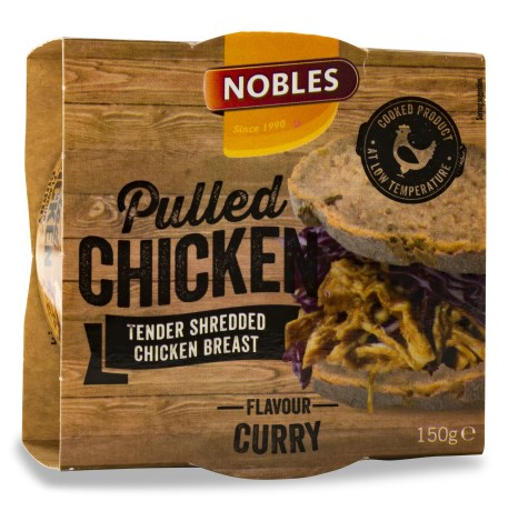 Nobles Pulled Chicken , Livsmedel - Nobles