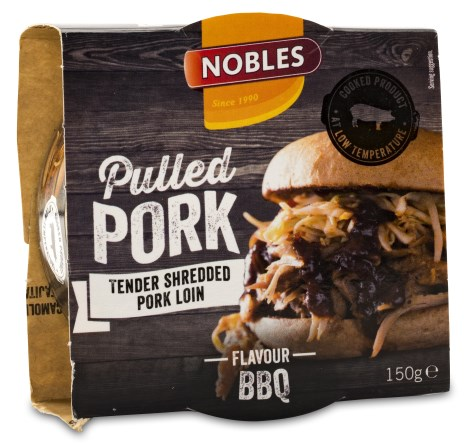 Nobles Pulled Pork, Livsmedel - Nobles