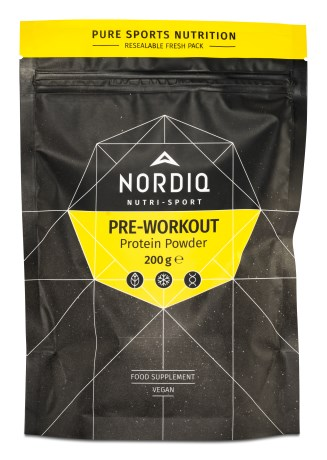 NORDIQ Pre-Workout Protein Powder - NORDIQ
