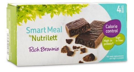 Nutrilett Smart Meal Bar 4-pack, Viktminskning - Nutrilett