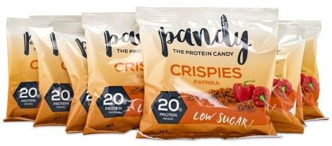 Pandy Protein Crispies Paprika, Livsmedel - Pandy Protein