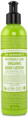 Dr Bronner Organic Body Lotion Patchouli Lime