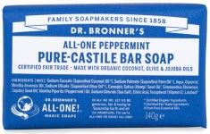 Dr Bronner Pure Castile Bar Soap Peppermint
