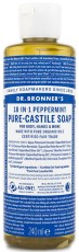 Dr Bronner Pure Castile Liquid Soap Peppermint