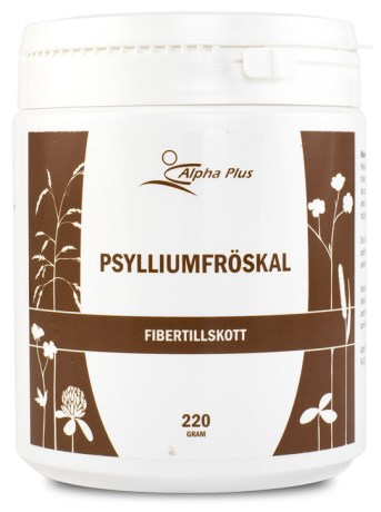 Alpha Plus Psylliumfröskal,  - Alpha Plus