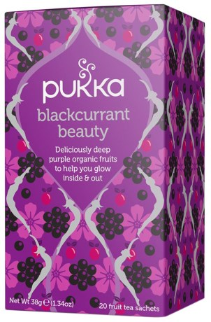 Pukka Blackcurrant Beauty, Livsmedel - Pukka