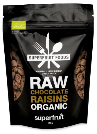 Superfruit Raw Chocolate Raisins, Livsmedel - Superfruit