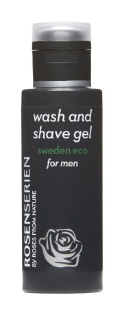 Rosenserien Wash and Shave Gel Men,  - Rosenserien