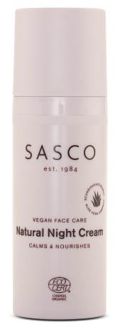 Sasco Face Natural Night Cream - Sasco