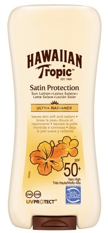 Hawaiian Tropic Satin Protection Sun Lotion SPF 50+,  - Hawaiian Tropic