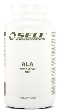 Self Omninutrition Lipoic Acid ALA - Self Omninutrition