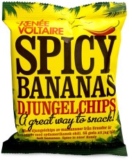 Renee Voltaire Spicy Bananas Djungelchips