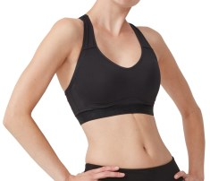 Stay In Place Pad Sports Bra A/B