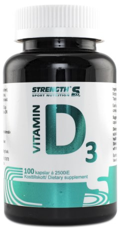 Strength D-Vitamin - Strength