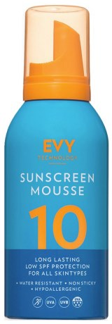 EVY Sunscreen Mousse SPF10,  - EVY Technology
