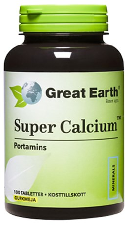 Great Earth Super Calcium, Hälsa - Great Earth