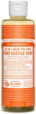Dr Bronner Pure Castile Liquid Soap Tea Tree