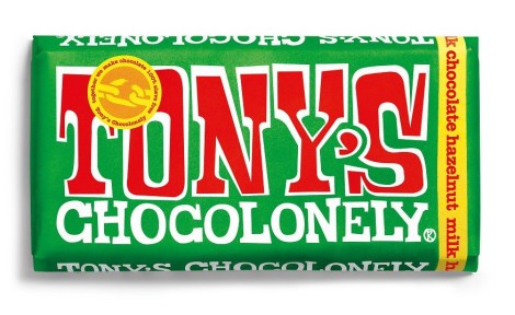 Tonys Chocolonely Milk Chocolate Hazelnut - Tonys Chocolonely