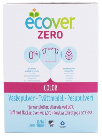 Ecover Zero Tvättmedel Color,  - Ecover