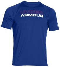Under Armour Wordmark Stacked Tee