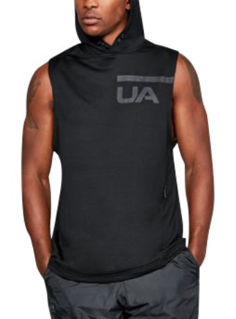 Under Armour MK1 Tech Terry Sleeveless Hoodie - Under Armour