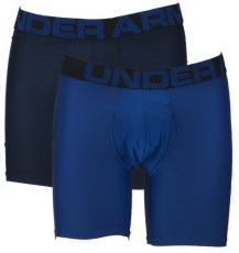 Under Armour Tech 6in Boxerjock 2-pack