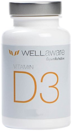 WellAware Vitamin D3 1000 IE, Hälsa - Wellaware