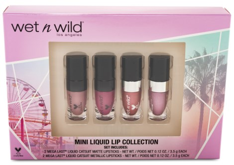 Wet n Wild Liquid Catsuit Lip Color Collection, Smink - Wet n Wild