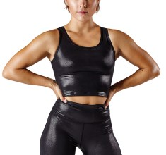 Workout Empire Shimmer Longline Bra