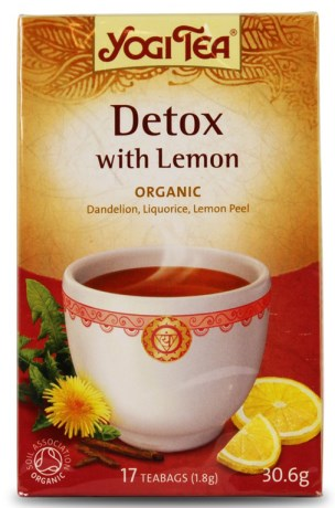 Yogi Tea Detox Lemon,  - Yogi