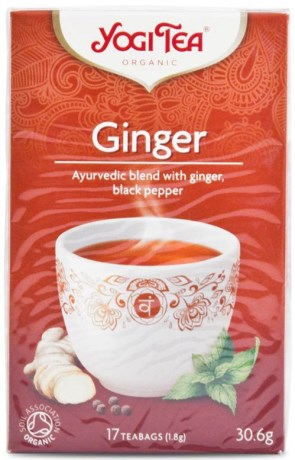 Yogi Tea Ginger,  - Yogi