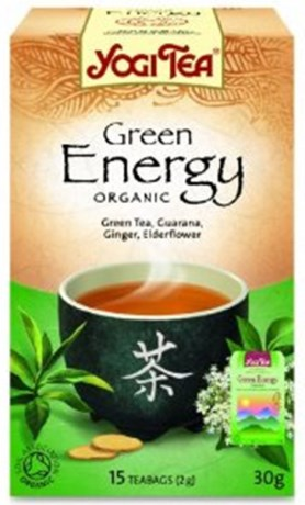 Yogi Tea Green Energy, Livsmedel - Yogi
