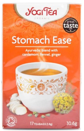 Yogi Tea Stomach Ease, Livsmedel - Yogi